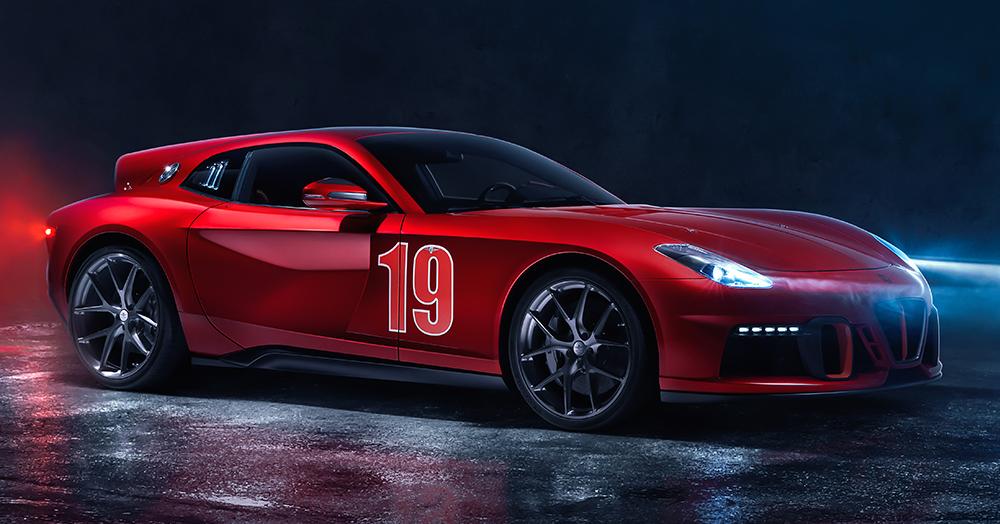 The Ferrari F12-Inspired 730HP 'Aero 3' Pays Homage To Automotive History