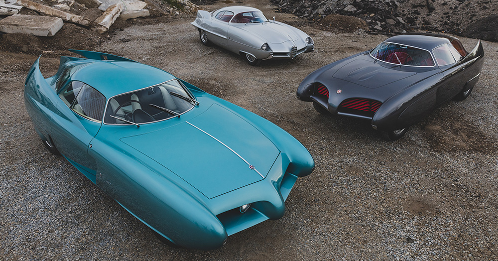 These Three Alfa Romeo B.A.T. Concept Cars Are Expected To Fetch Up To $100,000,000 At Auction