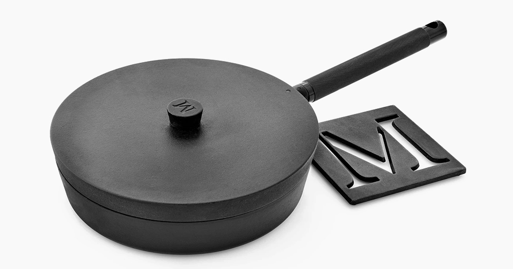 Renowned Chef Matty Matheson Launches His Debut Cookware Line With An Artisanally-Crafted 10-Inch Cast Iron Pan