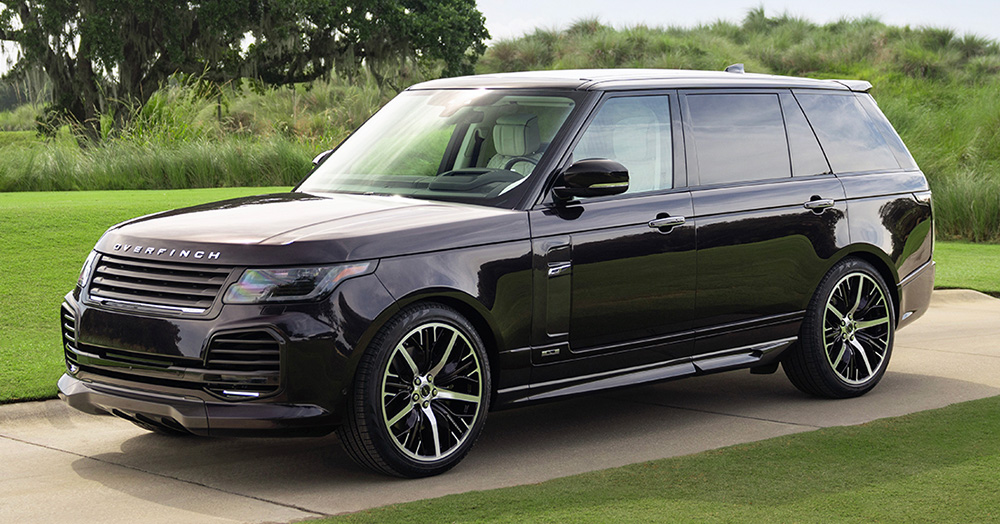 Overfinch's Ultra-Luxe Range Rover Is The Perfect Way To Celebrate 5 Years In The States