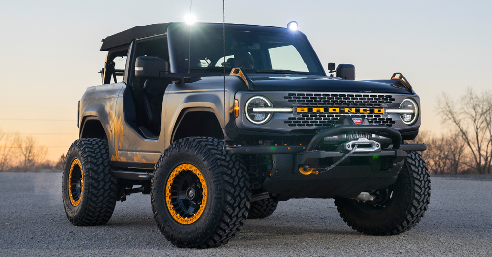 Ford Shows Off 5 Magnificent Off- & On-Road Custom Trucks & SUVs For Virtual SEMA