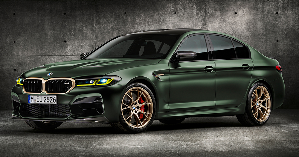 The 627HP M5 CS Sedan Is The Most Powerful BMW Production Model Of All Time