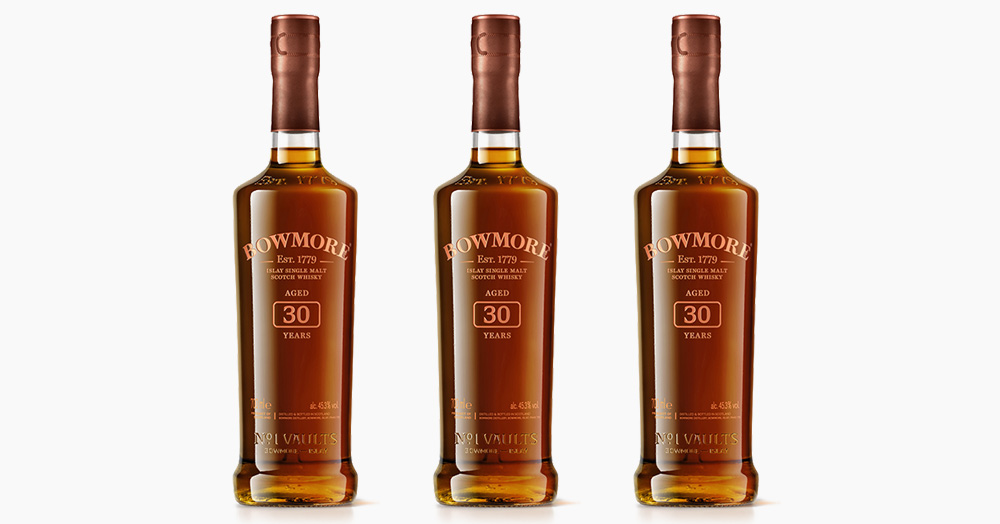 Bowmore Distillery Adds Its First 30-Year Single Malt Scotch To Its Annual Lineup