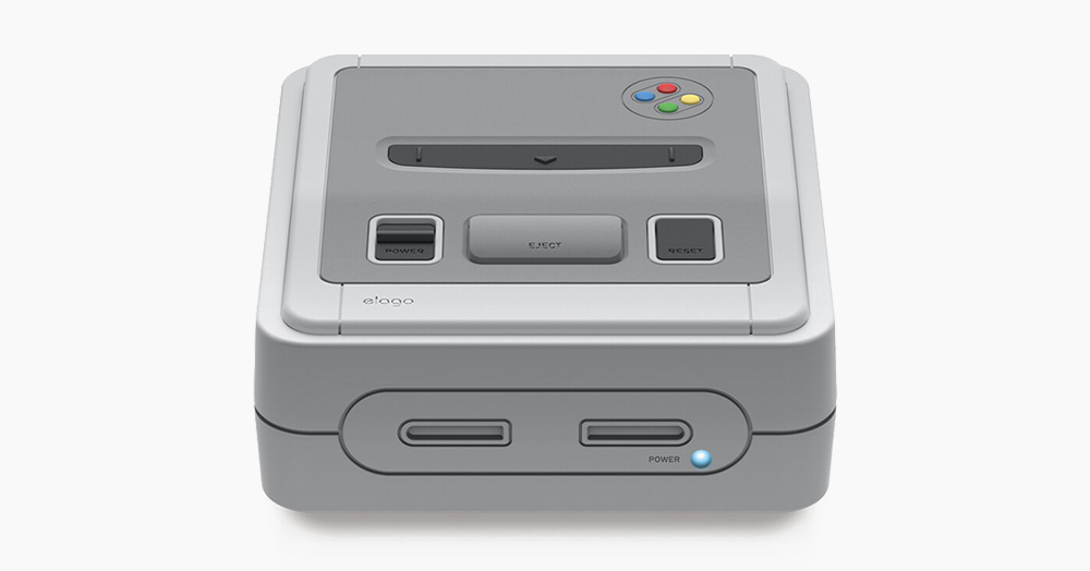Give Your Apple TV Some Old-School Style With This Super NES-Inspired Silicone Cover