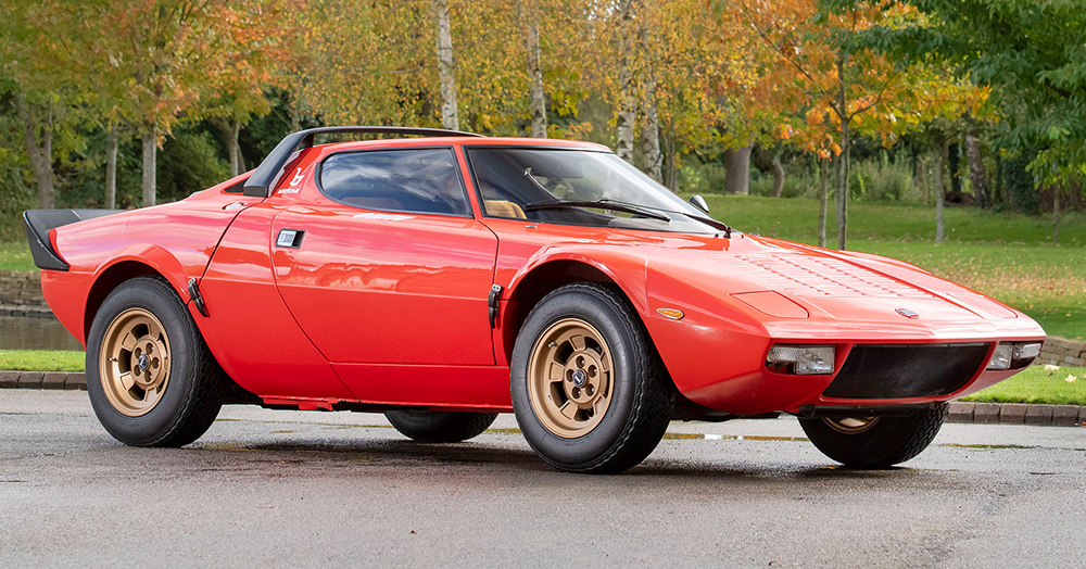 Drop What You're Doing & Buy This Perfectly-Preserved 1974 Lancia Stratos HF Stradale