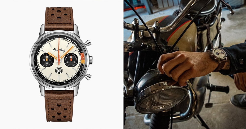 Deus Ex Machina Partners With Breitling On Its First-Ever Watch With A Limited-Edition Chrono
